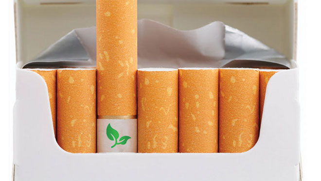 Cigarros ecológicos.