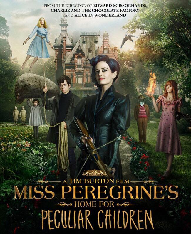 Resultado de imagen de portada el hogar de miss peregrine