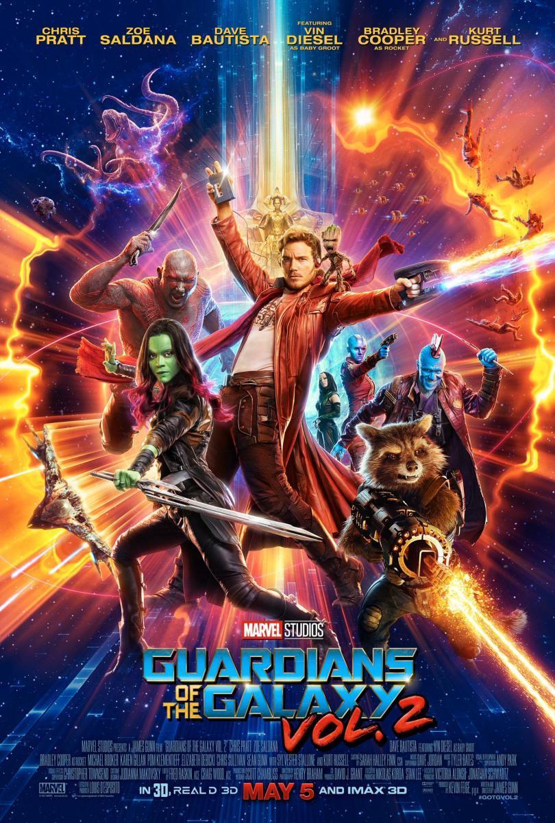 Película: Guardianes de la Galaxia 2