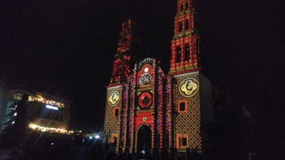 Fiesta de Luz en el centro