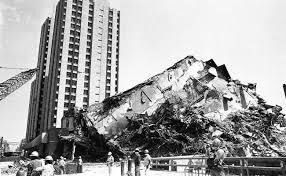 Testimonio del sismo de 1985.