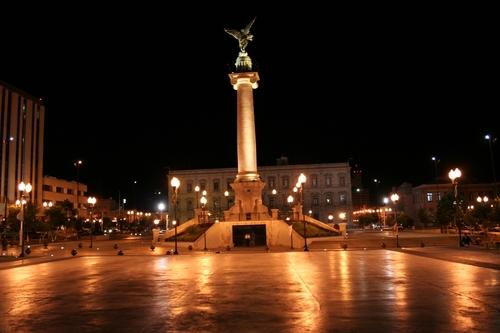 Plaza Mayor de la ciudad de Chihuahua.